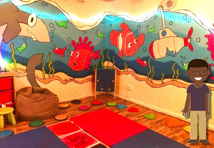 Sensory Room available in Adswood Stockport